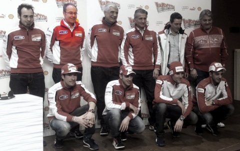 Ducati wroom pilotos